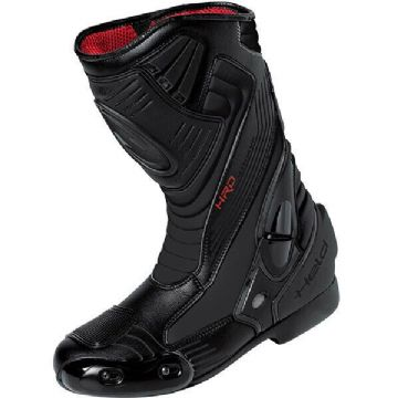 Held Epco Tex Leather Motorcycle Motorbike Waterproof Sports Race Boots - Black
